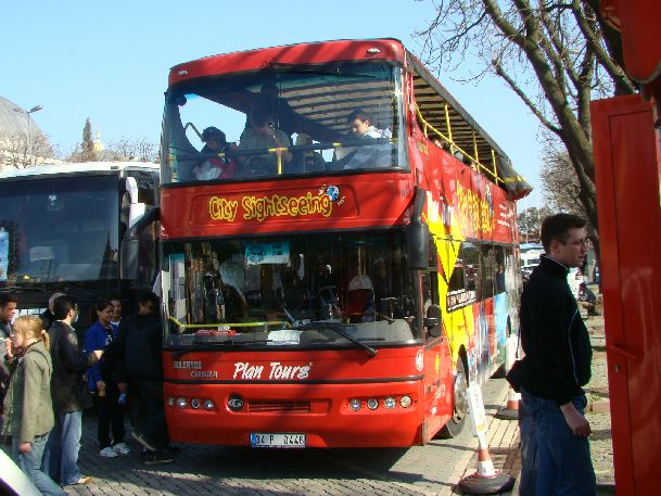 В плохую погоду можно съездить на автобусную экскурсию по Стамбулу