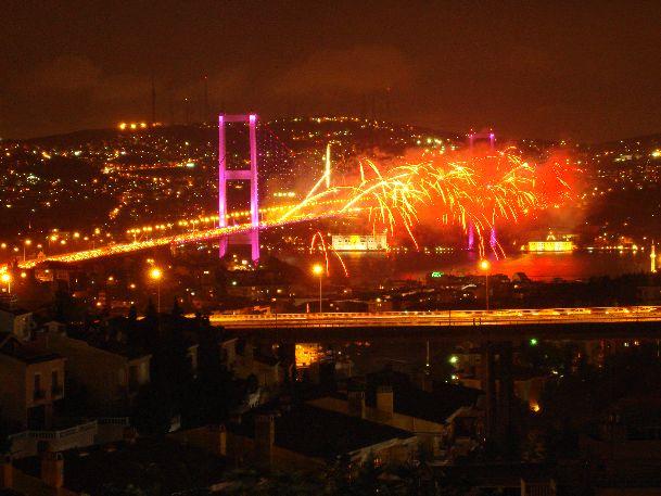 Новый год в Стамбуле - это весело и красиво!