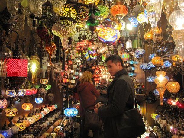 Невозможно посетить Стамбул и не побывать на одном из местных рынков!