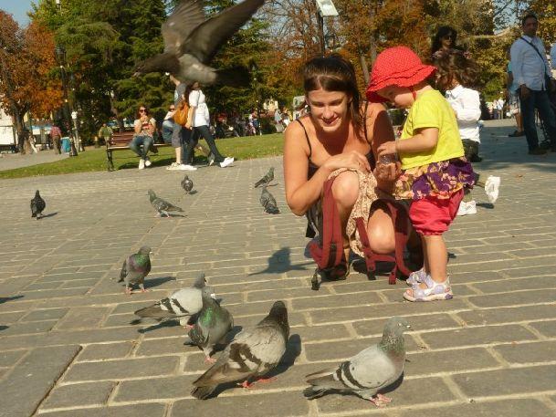 Приятно погулять в одном из Стамбульских парков осенним погожим днем!
