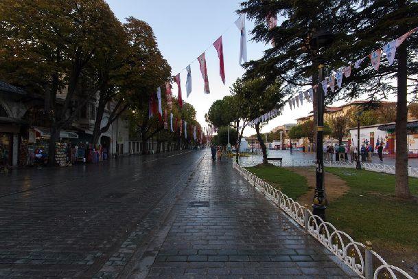 К концу сентября в Стамбуле могут идти дожди, и даже ливни