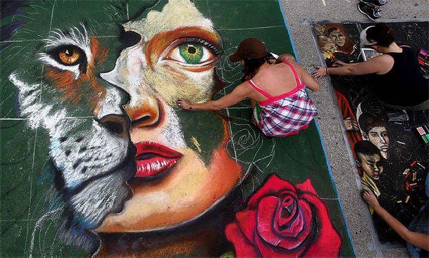 Фестиваль Уличного Искусства превращает  улицы Стамбула в галереи под открытым небом!