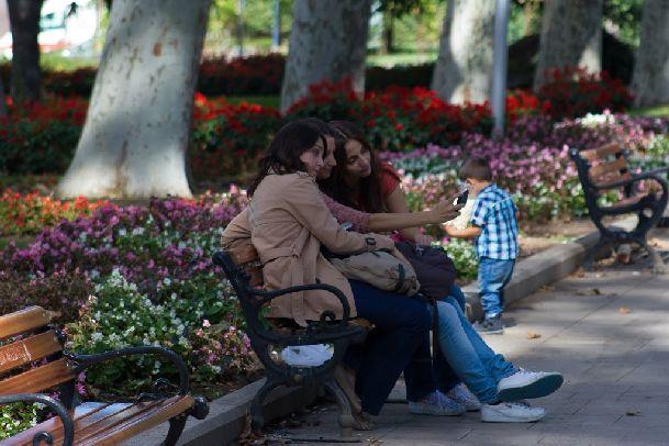 В сентябре в парках Стамбула свежо и очень красиво!